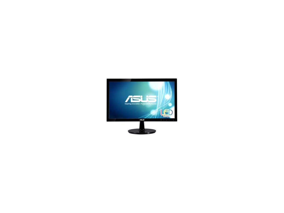 "ASUS VS207T-P Black 19.5"" 5ms Widescreen LED Backlight LCD Monitor 250 cd/m2 80,000,000:1"