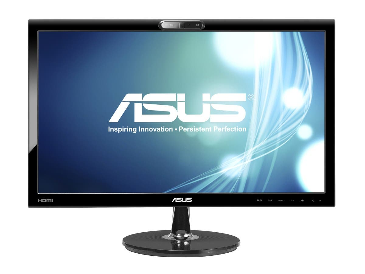 "ASUS VK228H-CSM Black 21.5"" 5ms HDMI Widescreen LED Backlight LCD Monitor With 1 Year Extended Warranty 250 cd/m2 ASCR 80,000,000:1-Large-Image-1"
