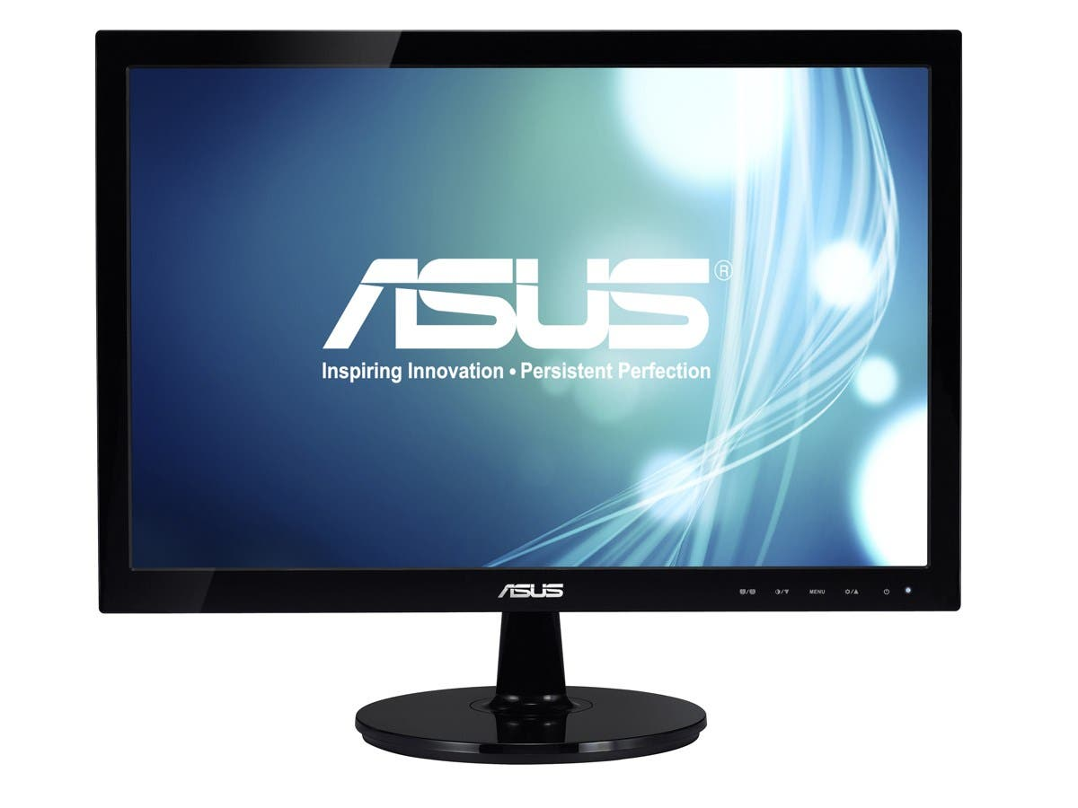 "ASUS VS Series VS197D-P Black 18.5"" 5ms LED Backlight Widescreen LCD Monitor 250 cd/m2 ASCR 50000000:1-Large-Image-1"