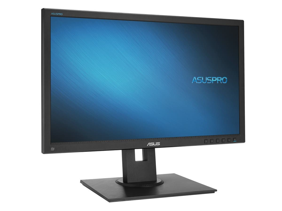 "Asus Commercial Series C622AQR 21.5"" Black 1920x1080 IPS LED Backlight LCD Monitor 5ms 250cd/m2, Built-in Speakers, Flick Free Technology, Ergonomic tilt, swivel, pivot and height adjustments"