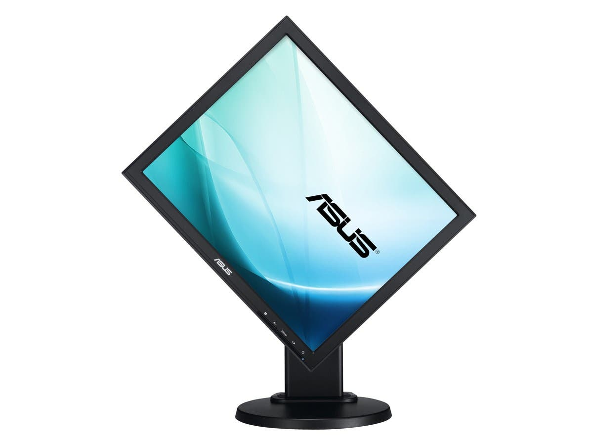 "ASUS VB199T-P Black 19"" 5ms LED Backlight LCD Monitor IPS 250 cd/m2 50,000,000:1 Built-in Speakers-Large-Image-1"