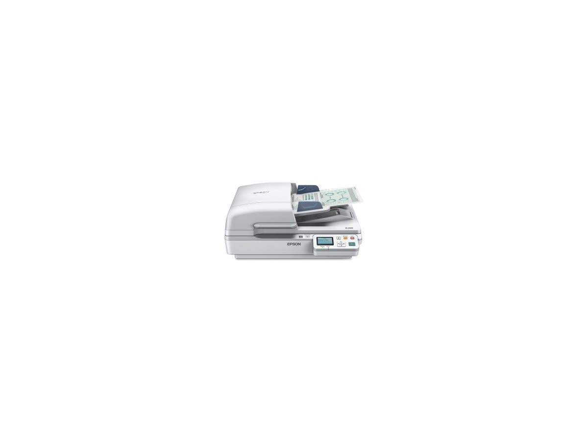 Epson WorkForce DS-6500 Flatbed Scanner B11B205221 - 1200 dpi Optical - 48-bit Color - 16-bit Grayscale - 25 - 25 - USB-Large-Image-1