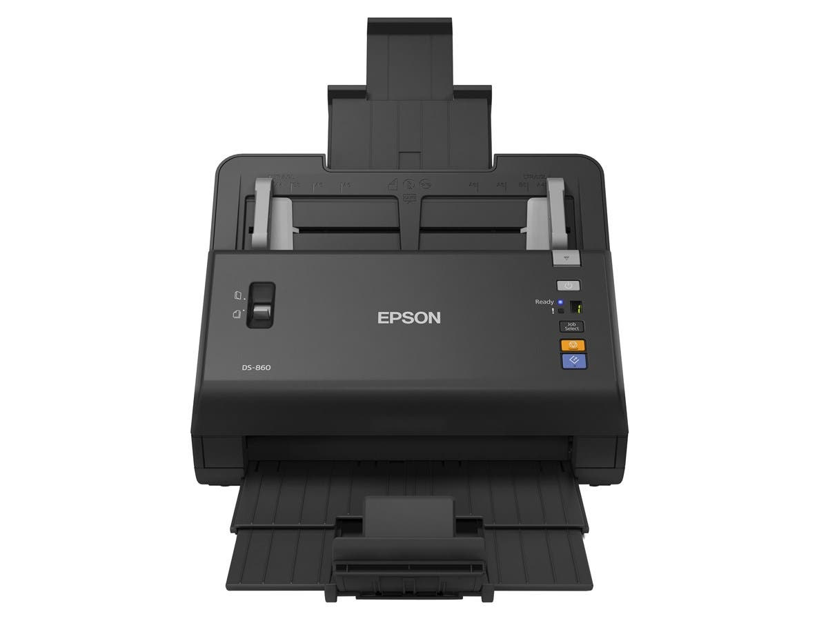 Epson WorkForce DS-860 Sheetfed Scanner B11B222201 - 600 dpi Optical - 48-bit Color - 16-bit Grayscale - 65 - 65 - USB-Large-Image-1