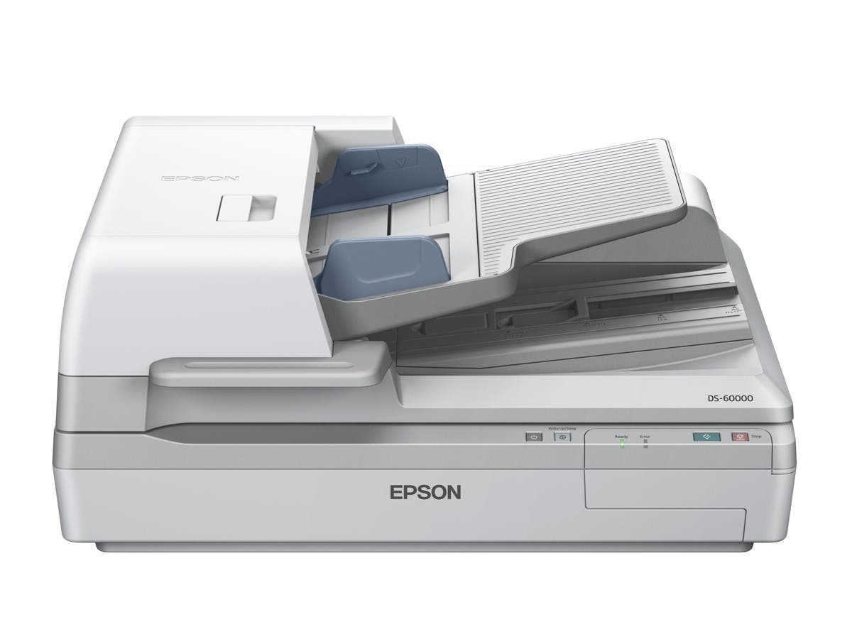 Epson WorkForce DS-60000 Flatbed Scanner - 600 dpi Optical - 16-bit Color - 40 - 40 - USB-Large-Image-1