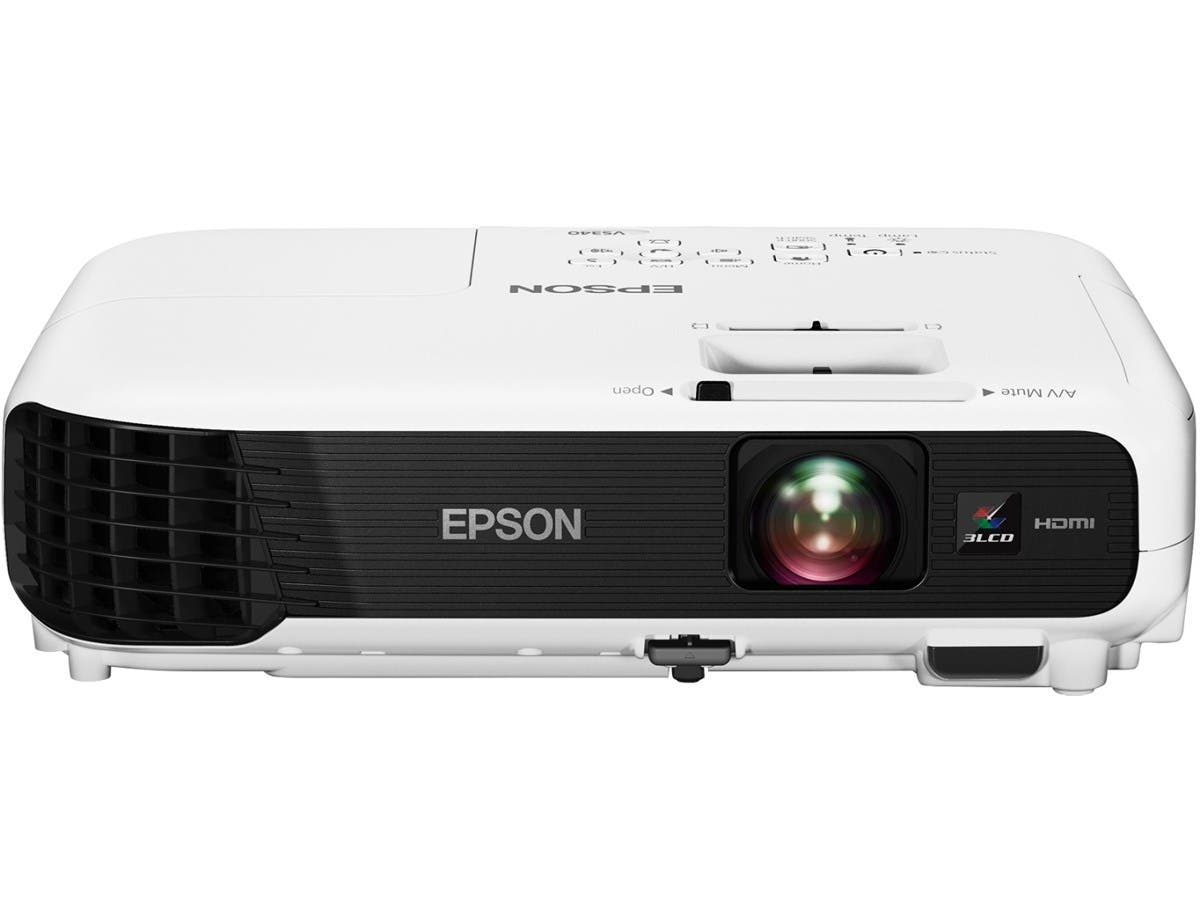 Epson VS340 LCD Projector - HDTV - 4:3 - Front, Ceiling, Rear - UHE - 200 W - 1024 x 768 - XGA - 2800 lm - White Color