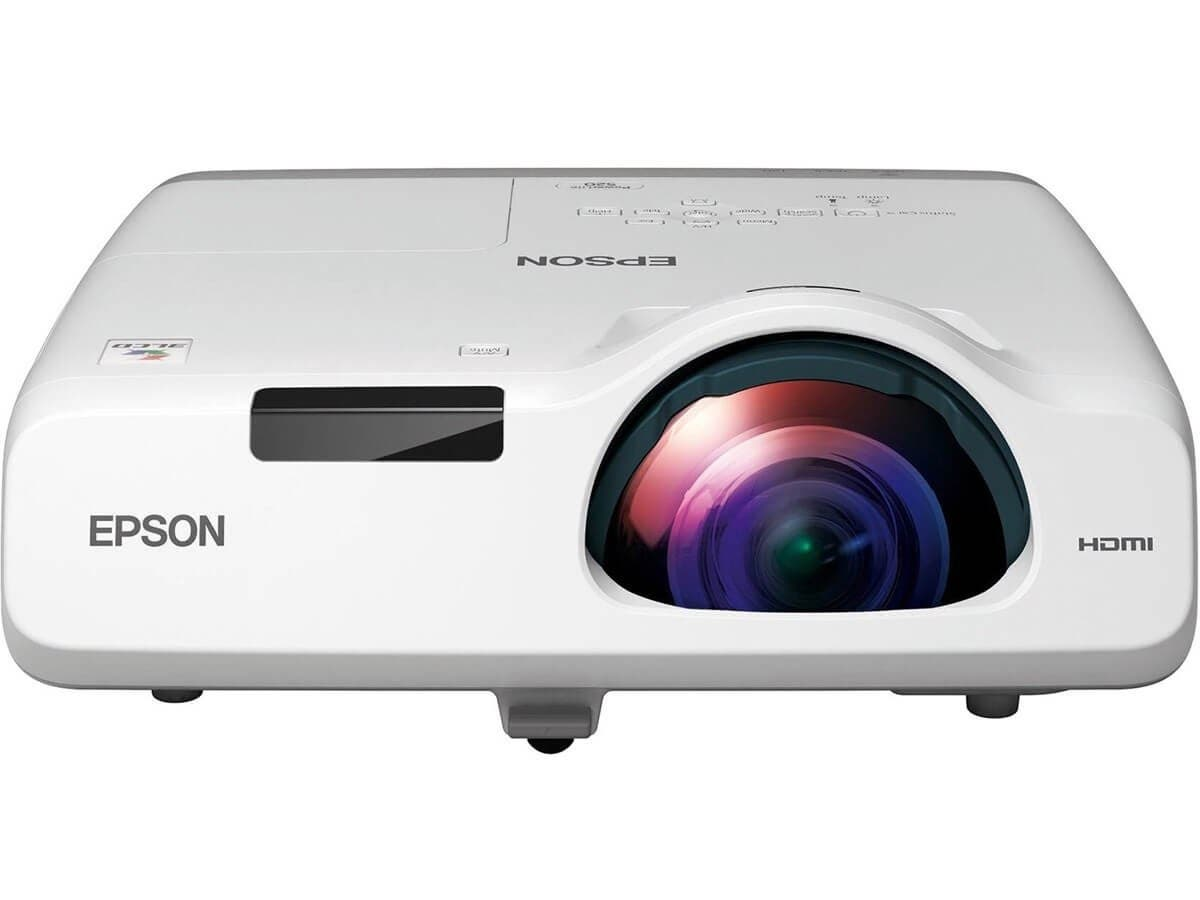 Epson PowerLite 530 LCD Projector V11H673020  - 720p - HDTV - 4:3 - Front, Rear, Ceiling1.6 - UHE - 215 W - 5000 Hour Normal Mode - 10000 Hour Economy Mode - 1024 x 768 - XGA - 16,000:1 - 3200 -Large-Image-1