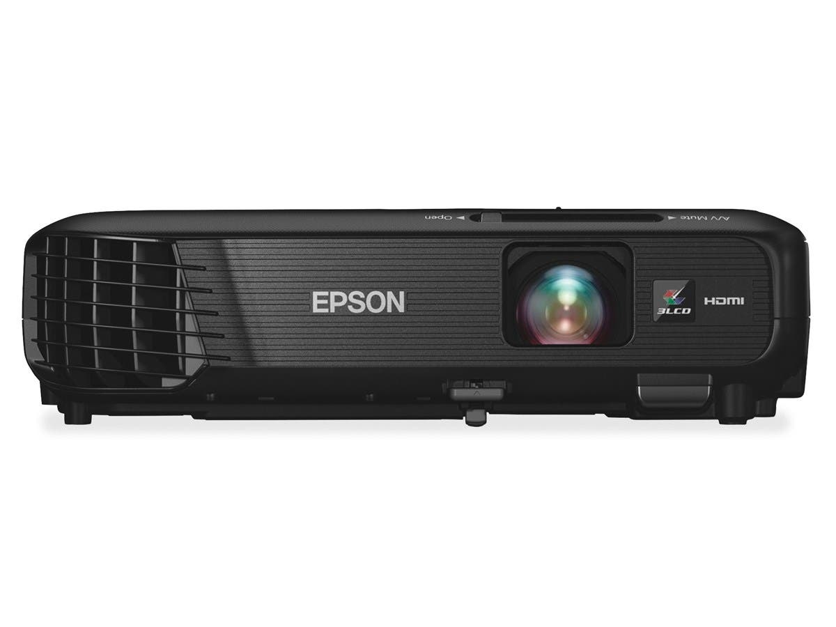 Epson PowerLite 1224 LCD Projector - HDTV - 4:3 - Front - 200 W - 1024 x 768 - XGA - 3200 lm - Wireless LAN - Black Color - 2 Year Warranty
