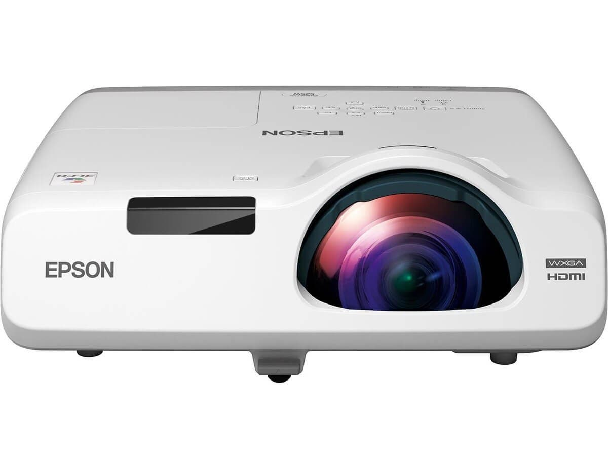 Epson PowerLite 525W LCD Projector - 720p - HDTV - 16:10 - Front, Rear, Ceiling1.6 - UHE - 215 W - NTSC, PAL, SECAM - 5000 Hour Normal Mode - 10000 Hour Economy Mode - 1280 x 800 - WXGA - 16,000:1 - 2-Large-Image-1