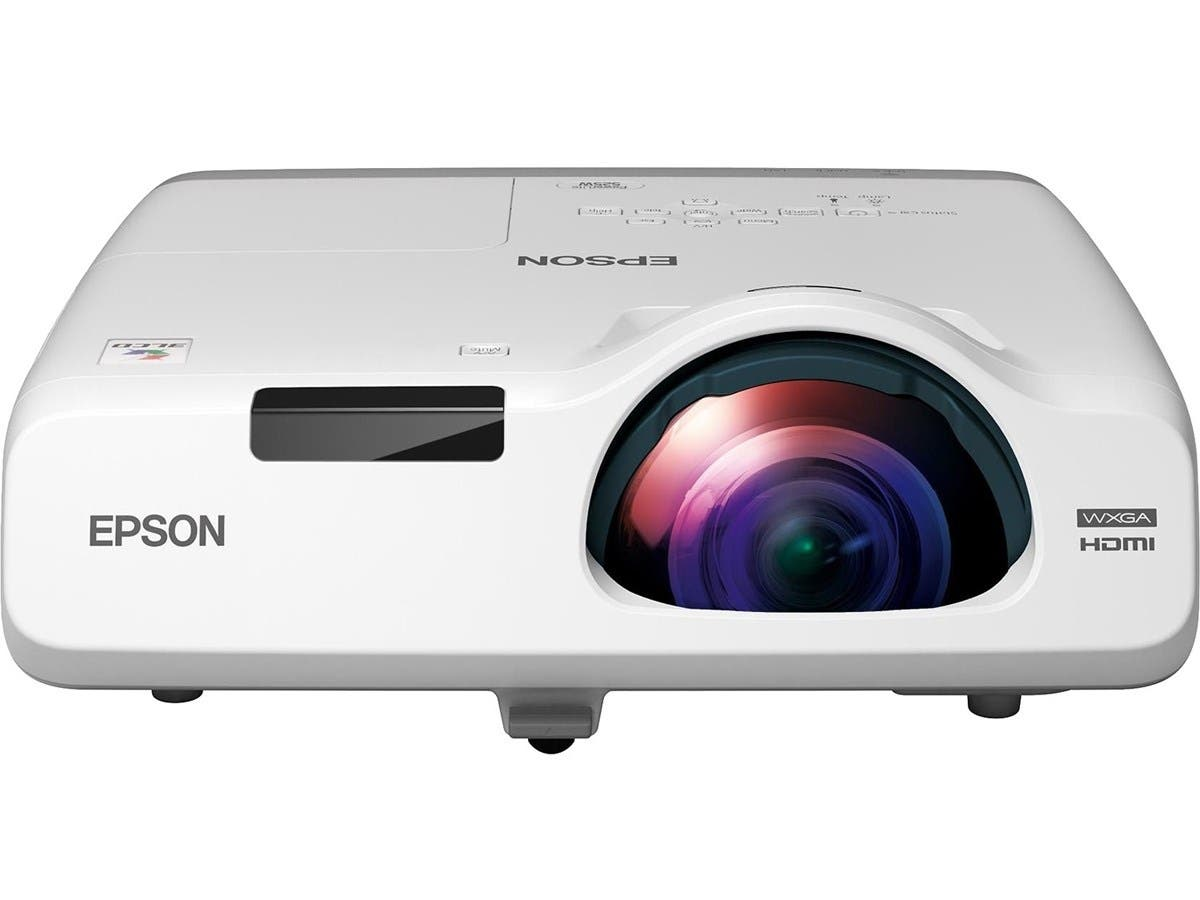 Epson PowerLite 535W LCD Projector - 720p - HDTV - 16:10 - Front, Rear, Ceiling1.6 - UHE - 215 W - NTSC, PAL, SECAM - 5000 Hour Normal Mode - 10000 Hour Economy Mode - 1280 x 800 - WXGA - 16,000:1-Large-Image-1