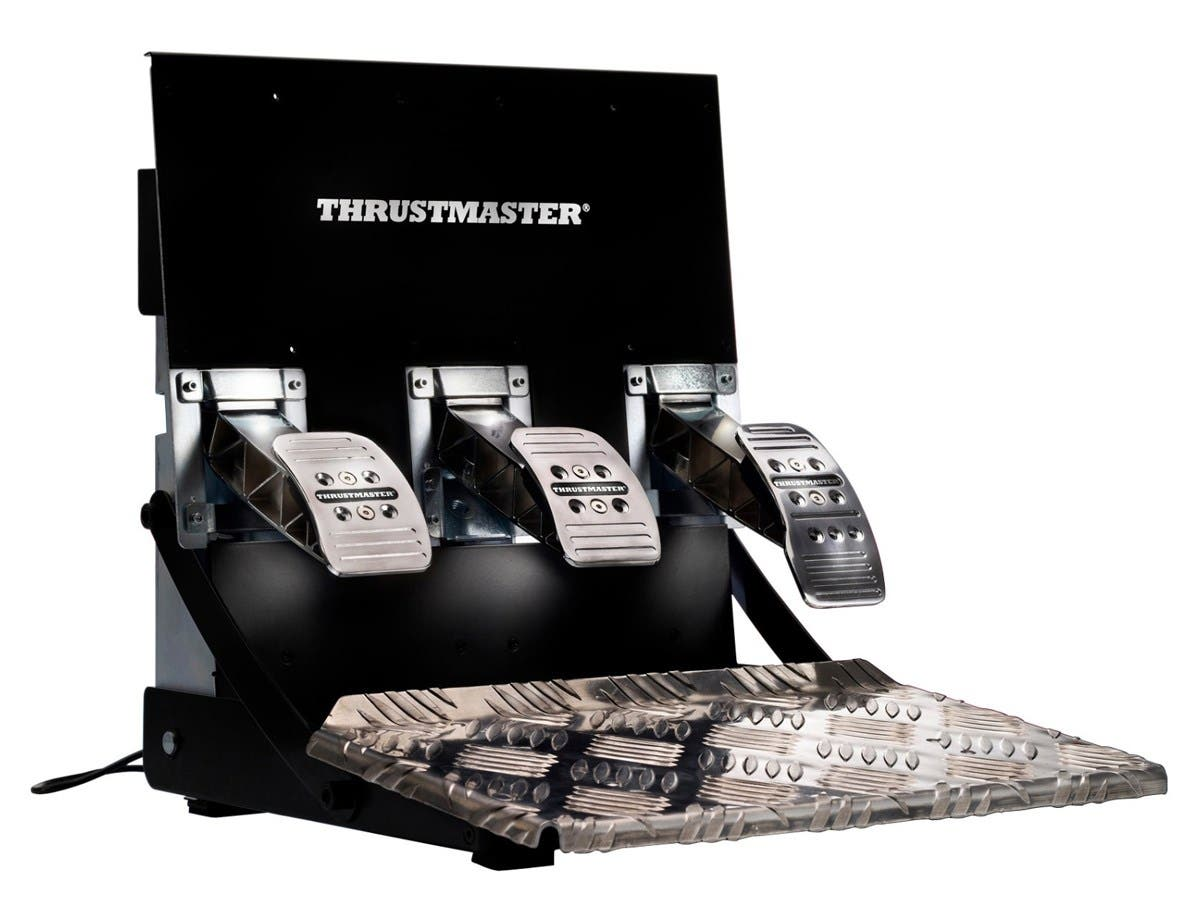 Thrustmaster T3PA-PRO ADD-ON Gaming Pedal - PC, PlayStation 3, Xbox One, PlayStation 4 - Silver