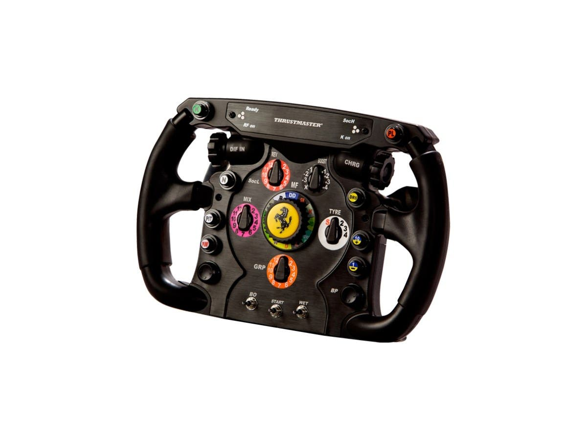 THRUSTMASTER Ferrari F1 Wheel Add-On Gaming Steering Wheel - PC, PlayStation 3