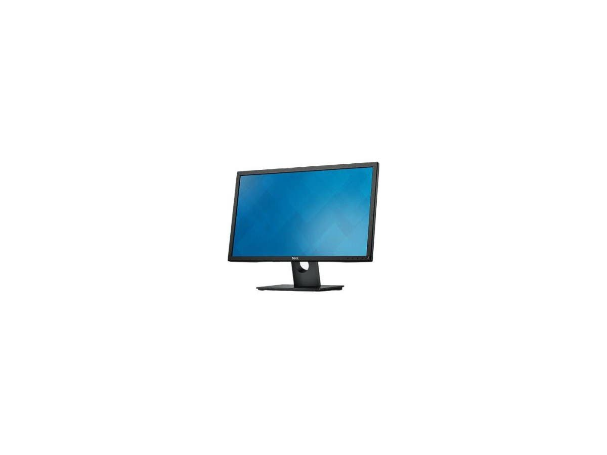 "Dell E2016H 19.5"" 5ms TN 60HZ Widescreen LED LCD Monitor with VESA-Mount Compatibility/Tilt Options, Eco-Conscious Design, VGA/DP-Large-Image-1"