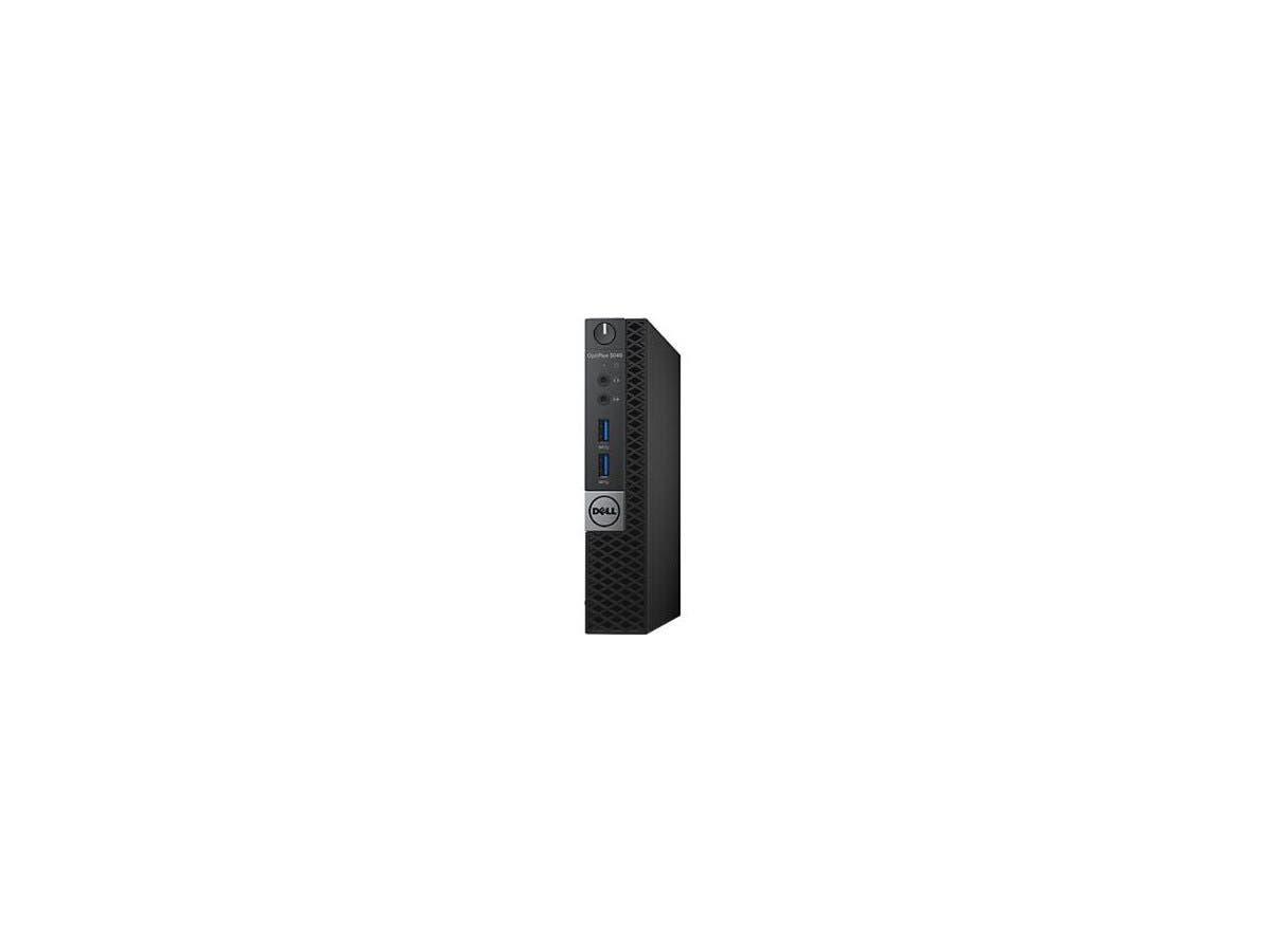 DELL Desktop Computer OptiPlex 3040 (6NK54) Intel Core i5 6th Gen 6500T (2.50 GHz) 4 GB DDR3L 500 GB HDD Intel HD Graphics 530 Windows 7 Professional 64-Bit (Includes Windows 10 Pro License)