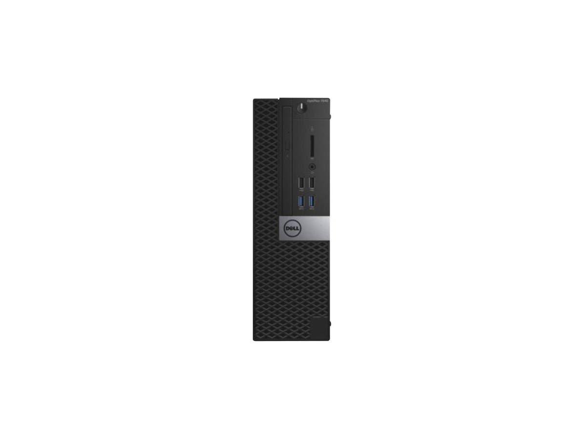 DELL Desktop Computer OptiPlex 7040 (VV17X) Intel Core i5 6th Gen 6500 (3.20 GHz) 8 GB DDR4 500 GB HDD Intel HD Graphics 530 Windows 7 Professional (Includes Windows 10 Pro License)