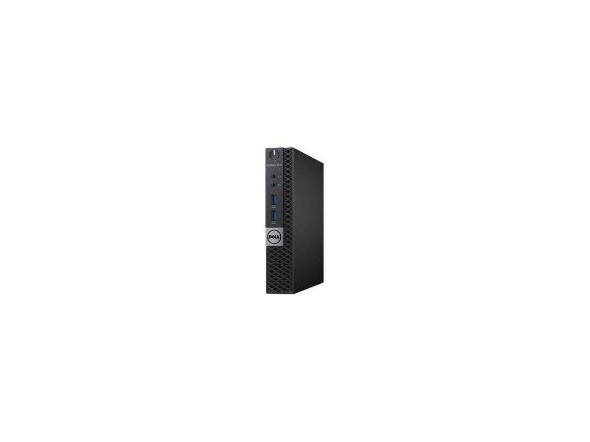 DELL Desktop Computer OptiPlex 3040 (K7M3T) Intel Core i3 6th Gen 6100T (3.20 GHz) 4 GB DDR3L 500 GB HDD Intel HD Graphics 530 Windows 7 Professional 64-Bit (Includes Windows 10 Pro License)