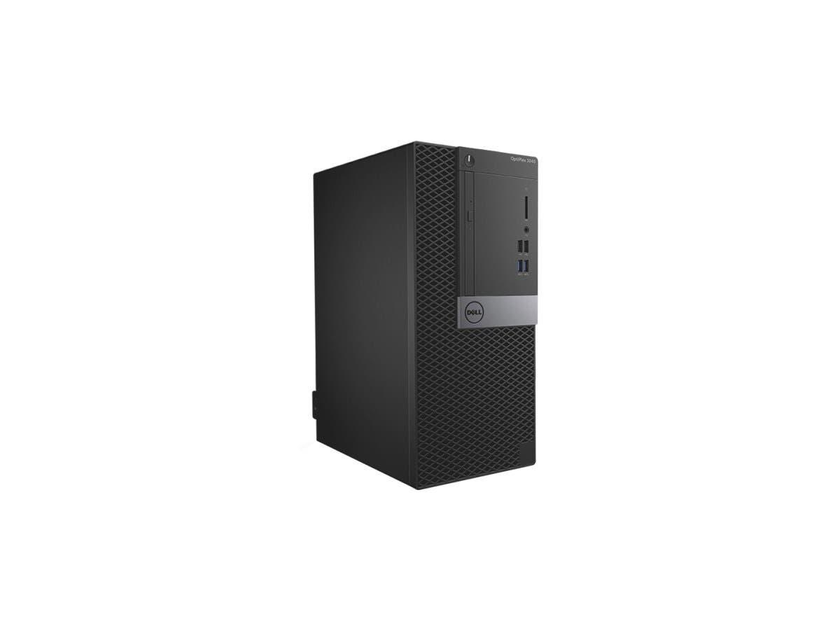 DELL Desktop Computer OptiPlex 3040 (C3JTP) Intel Core i5 6th Gen 6500 (3.20 GHz) 8 GB DDR3L 1 TB HDD Intel HD Graphics 530 Windows 7 Professional 64-Bit (Includes Windows 10 Pro License)