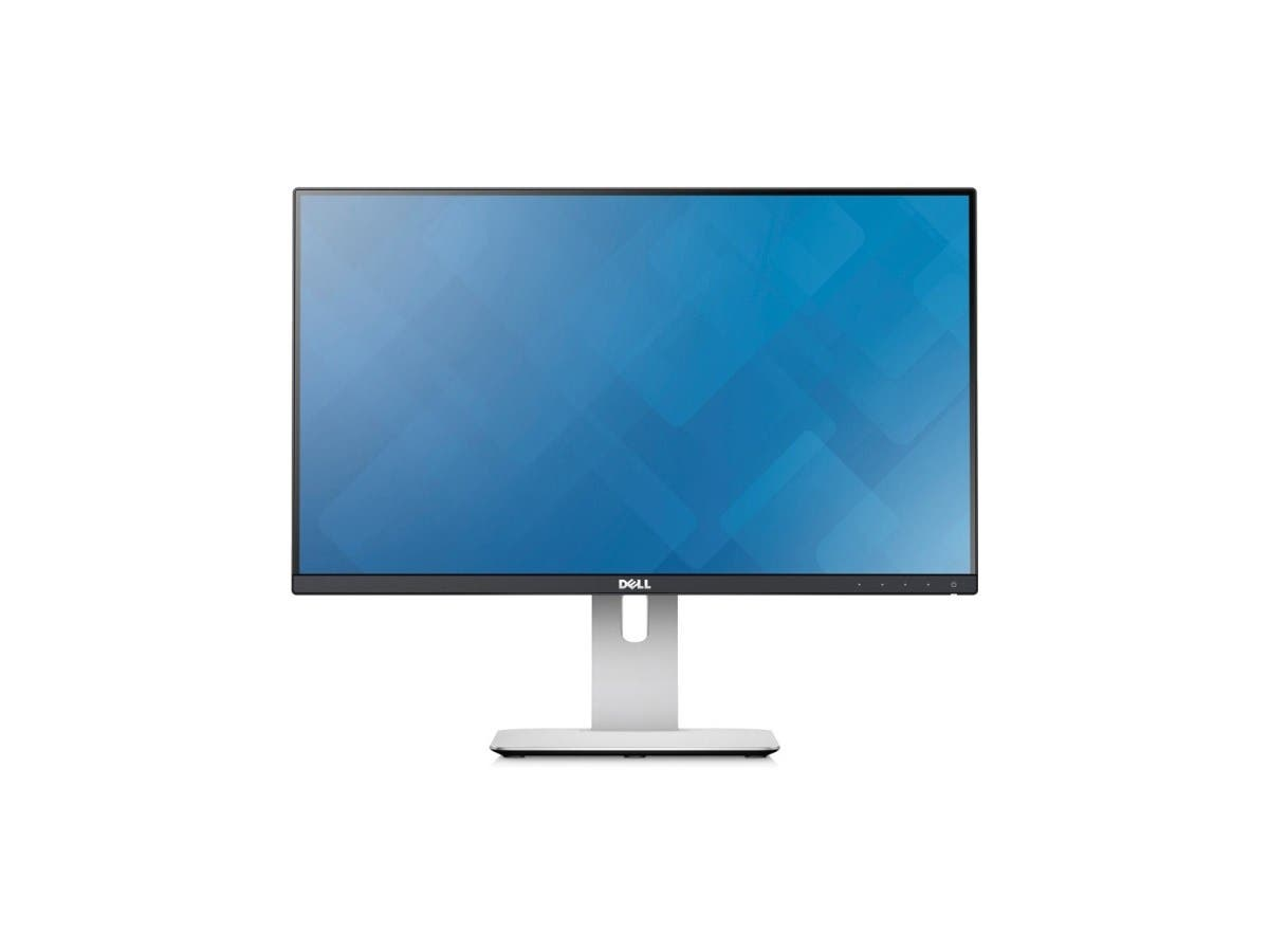 "Dell UltraSharp U2515H 25"" 6ms WQHD Widescreen LED Backlight LCD Monitor IPS panel 350 cd/m2, HDMI/MHL, DisplayPort, USB3.0Hub, Height&Pivot adjustable"