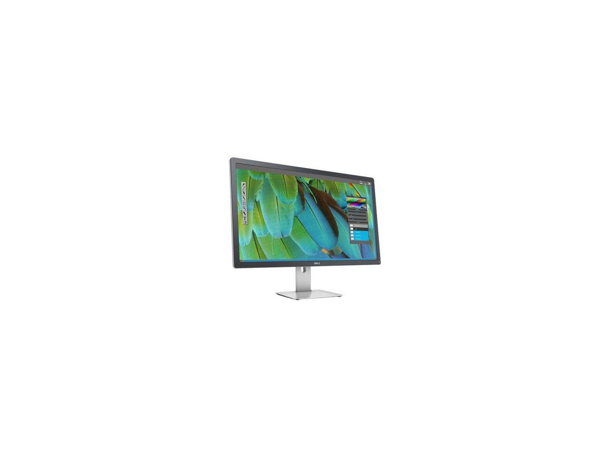 "Dell UltraSharp UP3216Q 31.5"" LED LCD Monitor - 16:9 - 6 ms - 3840 x 2160 - 1.07 Billion Colors - 300 Nit - 2,000,000:1 - 4K UHD - HDMI - DisplayPort - USB - 93.40 W - Black-Large-Image-1"