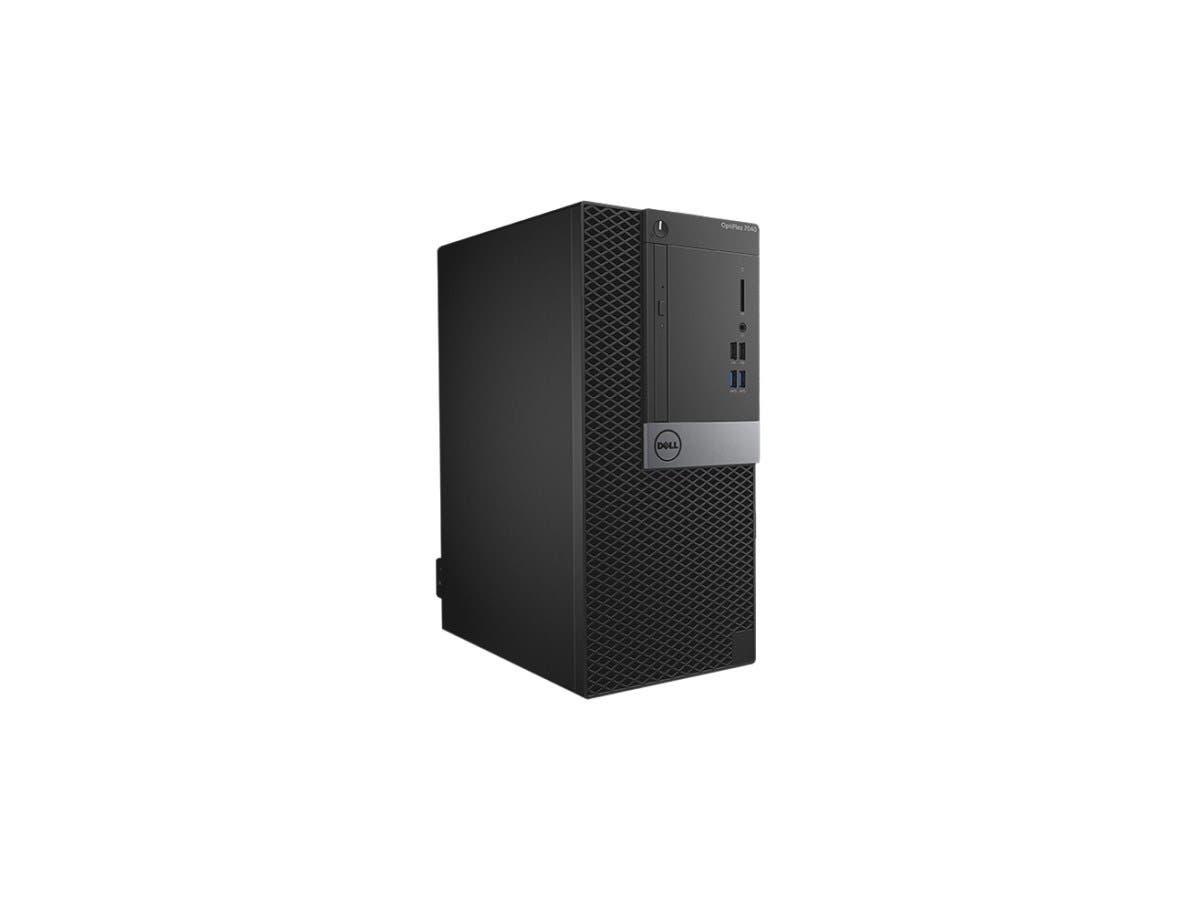DELL Desktop Computer OptiPlex 7040 (CMR0C) Intel Core i7 6th Gen 6700 (3.4 GHz) 8 GB DDR4 500 GB HDD AMD Radeon R5 340X 2 GB Windows 7 Professional (Includes Windows 10 Pro License)
