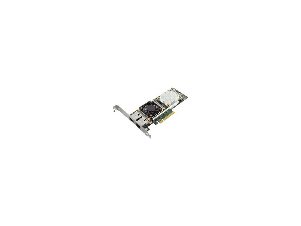 Dell Broadcom 57810S Dual Port 10Gb Base-T Server Adapter - PCI Express - 2 Port(s) - 2 - Twisted Pair