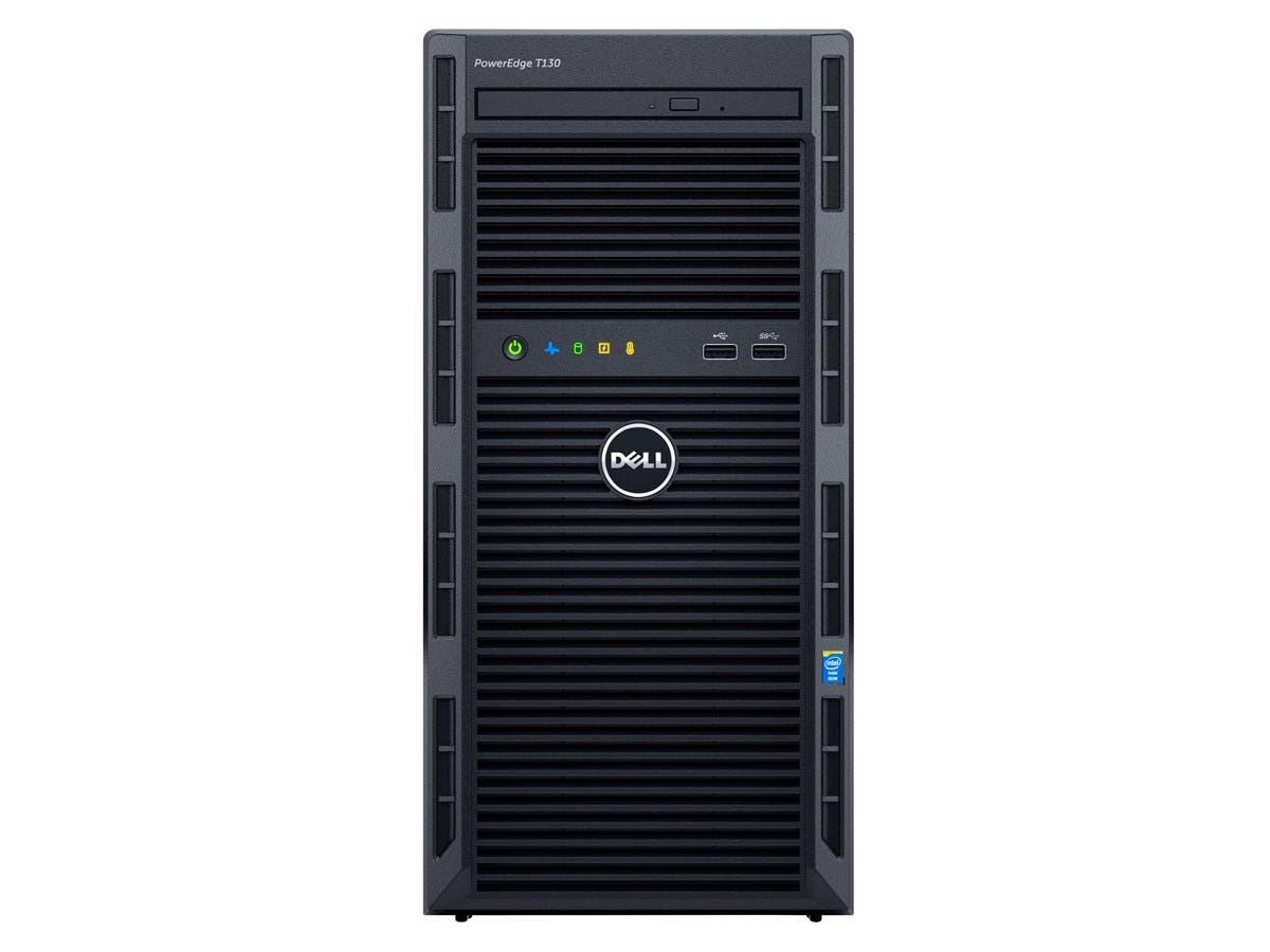 Dell PowerEdge T130 Mini-tower Server - 1 x Intel Xeon E3-1240 v5 Quad-core (4 Core) 3.50 GHz