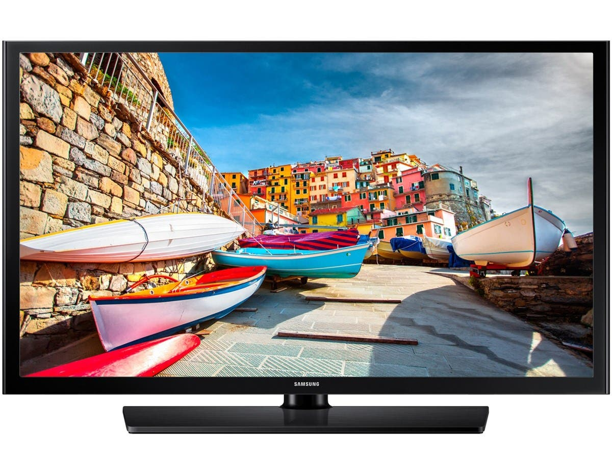 "Samsung 470 HG40NE470SF 40"" 1080p LED-LCD TV Hospitality - 16:9 - HDTV 1080p - Black - ATSC - 1920 x 1080 - 20 W RMS - Direct LED - 2 x HDMI - USB"