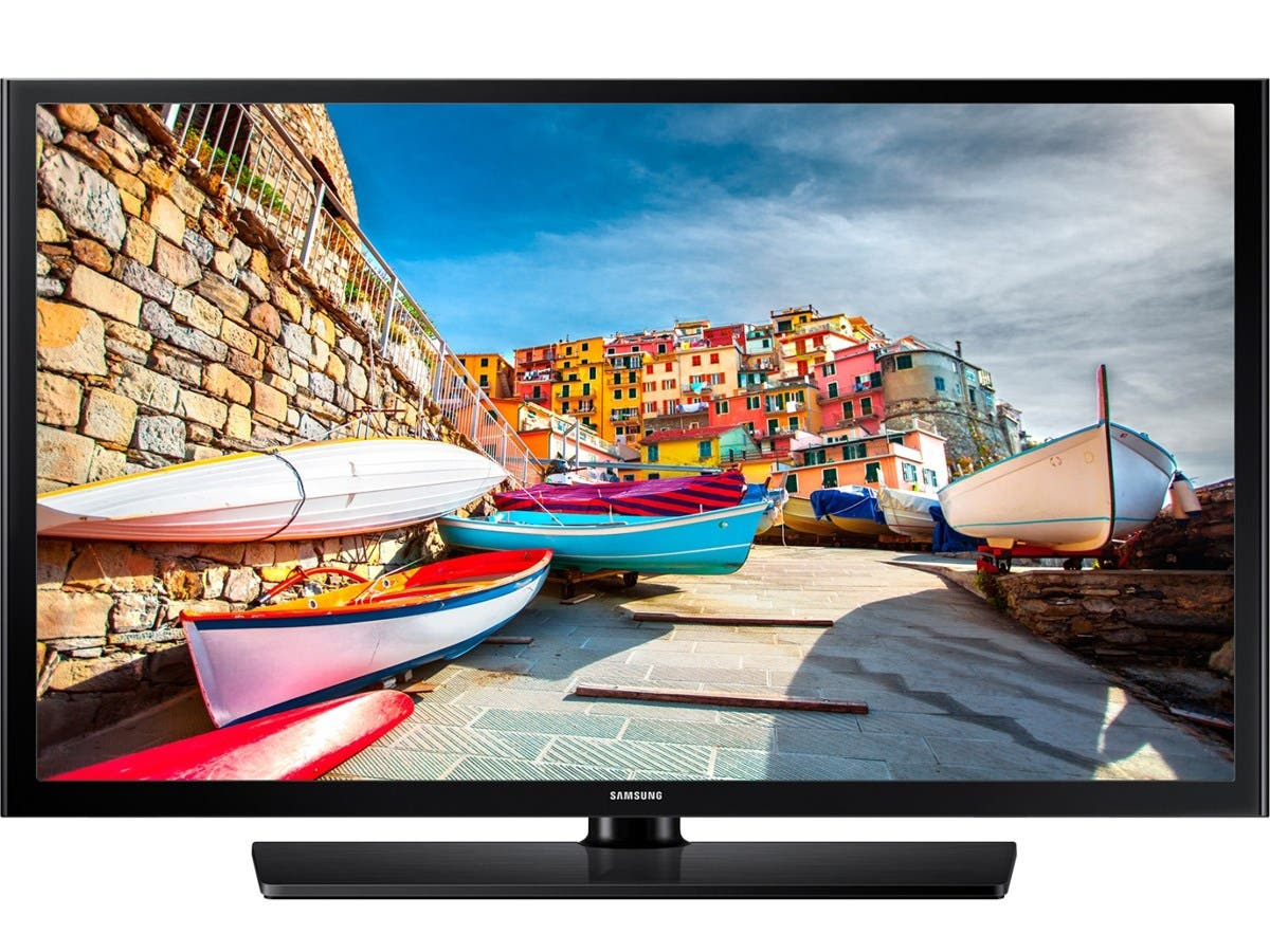 "Samsung 478 HG40NE478SF 40"" 1080p LED-LCD TV - 16:9 - HDTV 1080p - Black - ATSC - 1920 x 1080 - Dolby Digital Plus, DTS - 20 W RMS - Direct LED - 2 x HDMI - USB-Large-Image-1"