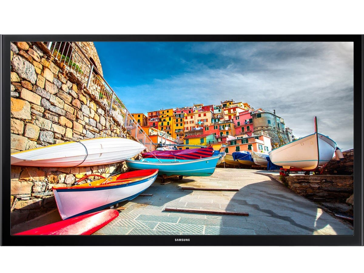 "Samsung 473 HG32NE473SF 32"" LED-LCD TV - 16:9 - HDTV - Black - ATSC - 1366 x 768 - Dolby Digital Plus, DTS - 10 W RMS - Direct LED - 2 x HDMI"