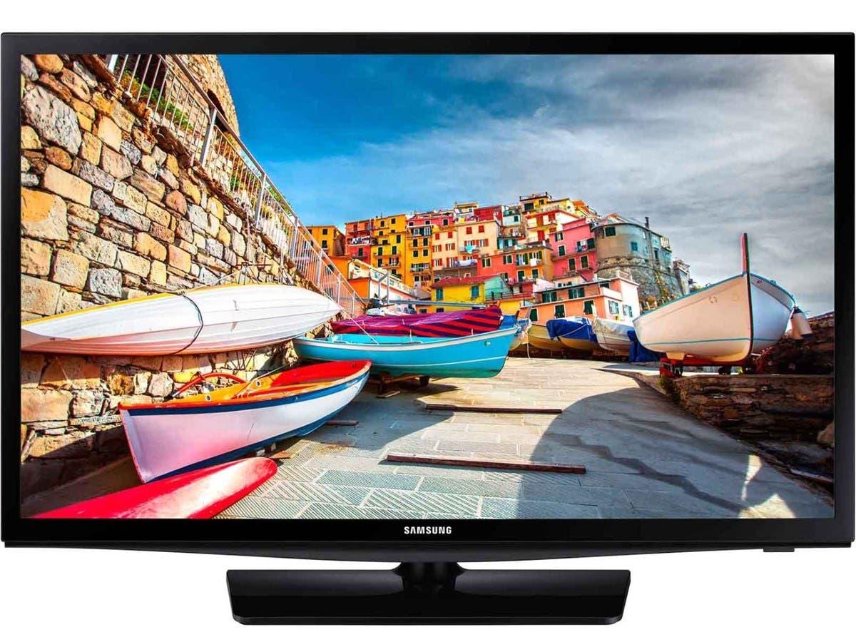 """Samsung 470 HG24NE470AF 24"""" LED-LCD TV - 16:9 - ATSC - Direct LED - USB - Ethernet - Wireless LAN"""