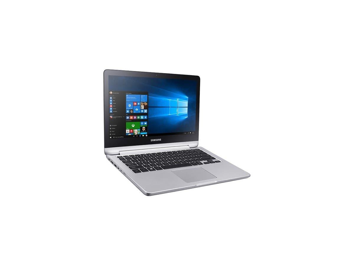 "Samsung 7 NP740U3L 13.3"" Touchscreen 2 in 1 Notebook - Intel Core i5 (6th Gen) i5-6200U Dual-core (2 Core) 2.30 GHz - Platinum Silver - 8 GB DDR4 SDRAM RAM - 500 GB HDD - Intel HD Graphics 520"