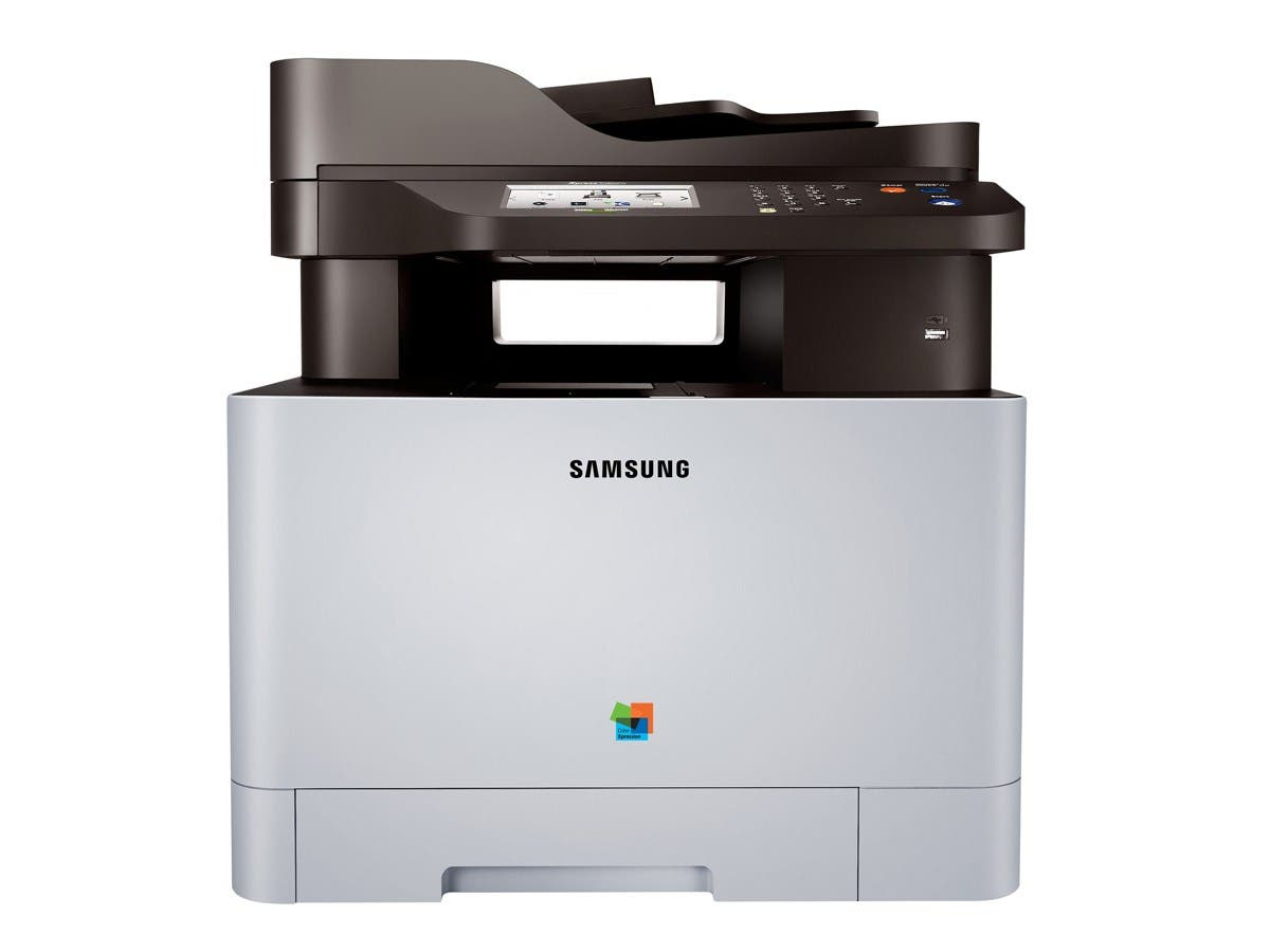 Samsung Xpress SL-C1860FW/XAA Plain Paper Print Up to 19 ppm 9600 x 600 dpi Color Print Quality Color Laser Laser Printer