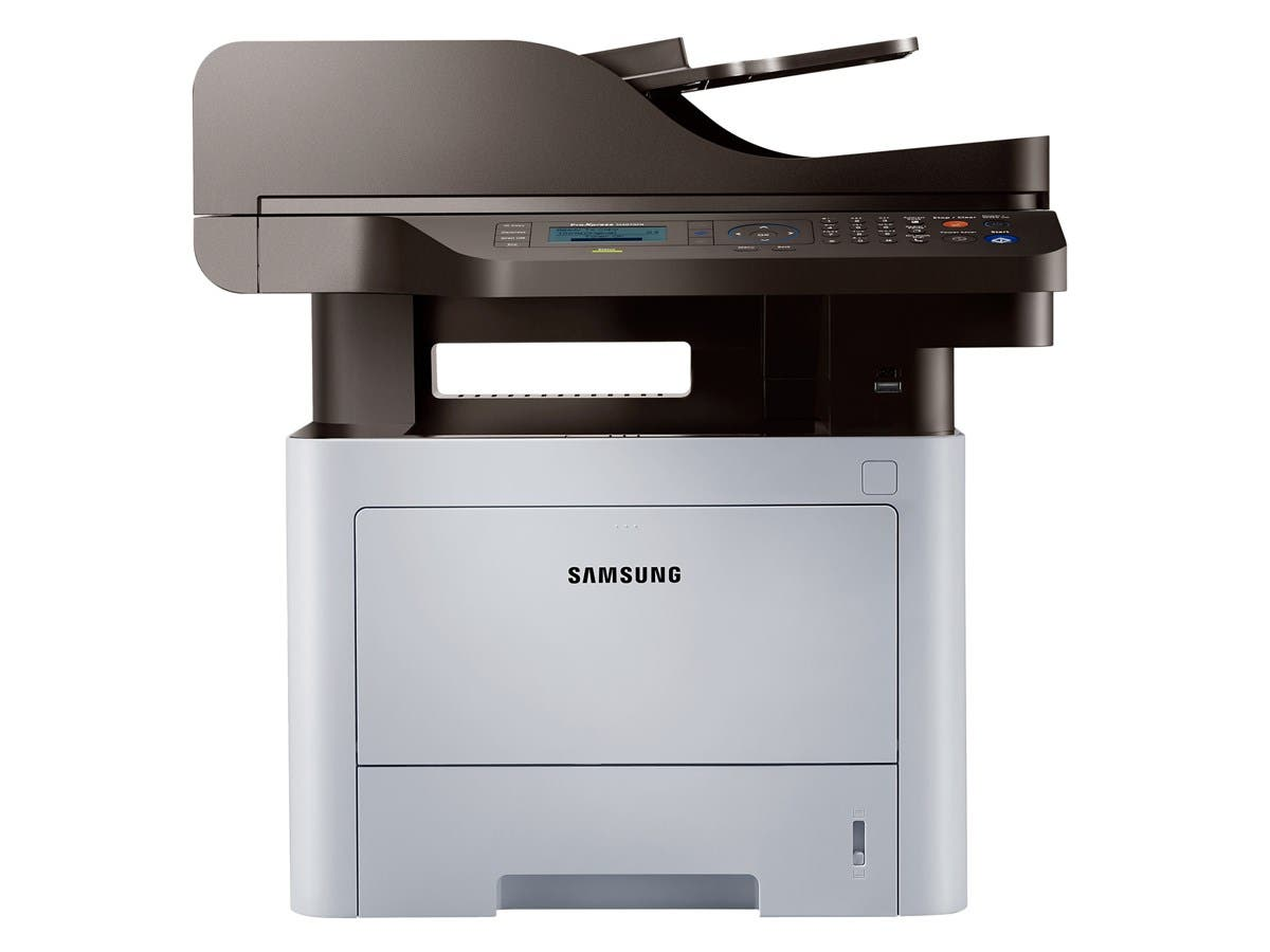 Samsung ProXpress SL-M4070FR Laser Multifunction Printer - Monochrome - Plain Paper Print - Desktop - Copier/Fax/Printer/Scanner - 42 ppm Mono Print - 1200 x 1200 dpi Print - 42 cpm Mono Copy LCD
