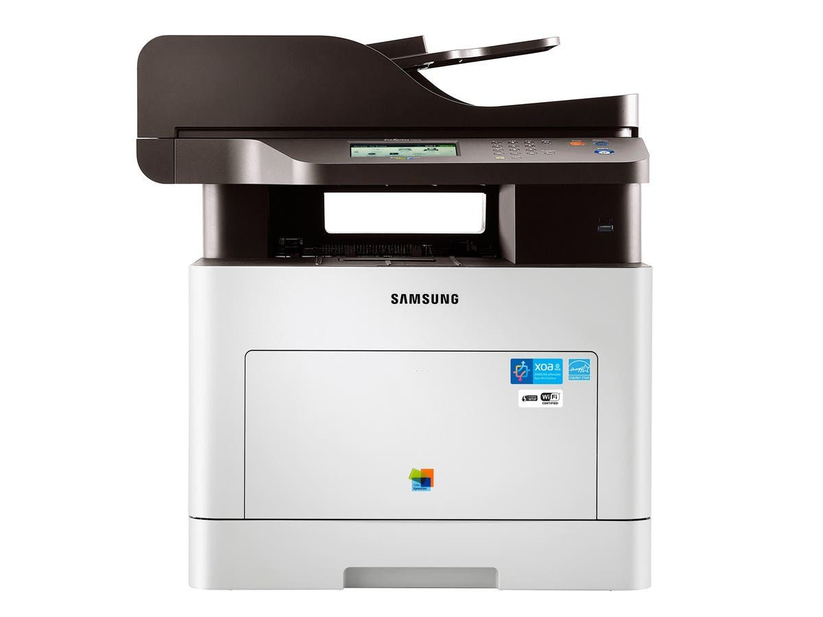 Samsung ProXpress SL-C2670FW Laser Multifunction Printer - Color - Plain Paper Print - Desktop - Copier/Fax/Printer/Scanner - 27 ppm Mono/27 ppm Color Print - 9600 x 600 dpi Print