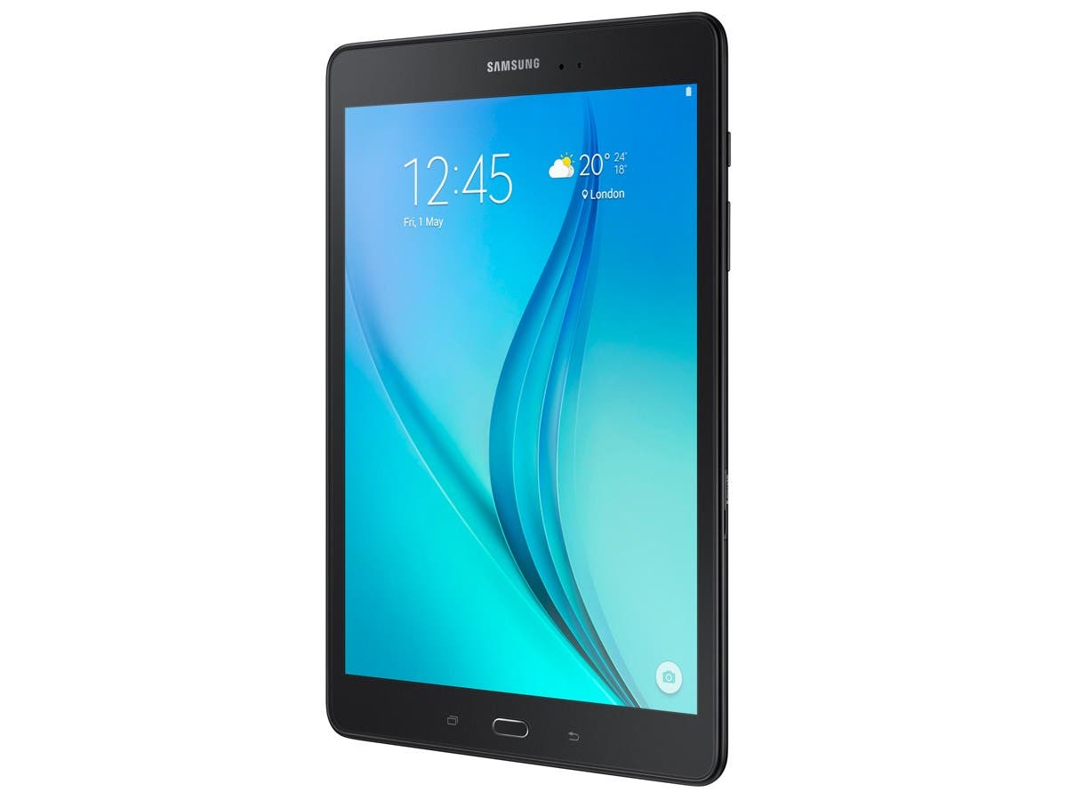 "Samsung Galaxy Tab A SM-T280 8 GB Tablet - 7"" - Plane to Line (PLS) Switching - Wireless LAN Quad-core (4 Core) 1.30 GHz - Black - 1.50 GB RAM - Android 5.1 Lollipop - Slate - 1280 x 800"