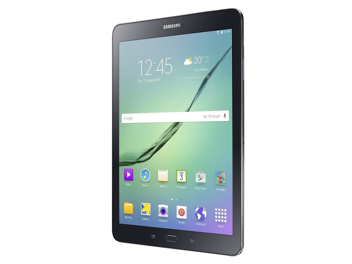 "Samsung Galaxy Tab S2 SM-T813 32 GB Tablet - 9.7"" - Wireless LAN - Qualcomm APQ8076 Quad-core (4 Core) 1.90 GHz - Black - 3 GB RAM - Android 6.0 Marshmallow - Slate - 2048 x 1536"