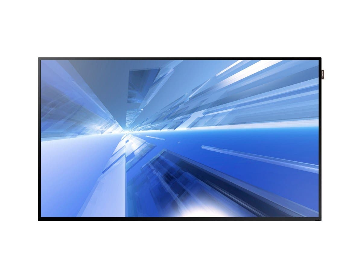 "Samsung DM55E - DM-E Series 55"" Slim Direct-Lit LED Display for Business - 55"" LCD - ARM Cortex A9 1 GHz - 1.50 GB DDR3 SDRAM - 1920 x 1080 - Direct LED - 450 Nit - 1080p - HDMI -Large-Image-1"