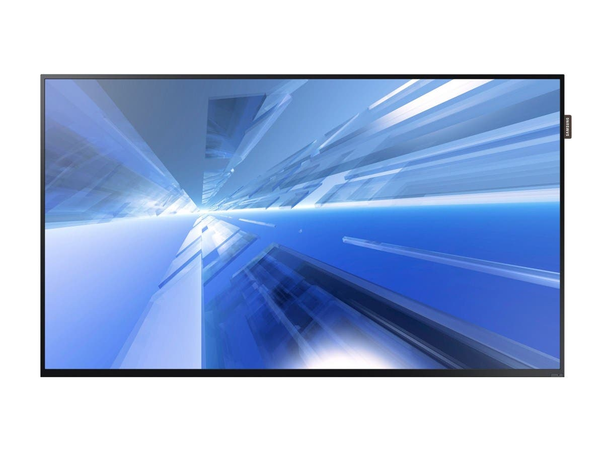 "Samsung DB55E - DB-E Series 55"" Slim Direct-Lit LED Display Digital Signage - 55"" LCD - ARM Cortex A9 1 GHz - 1.50 GB DDR3 SDRAM - 1920 x 1080 - Direct LED - 350 Nit - 1080p - HDMI - USB-Large-Image-1"