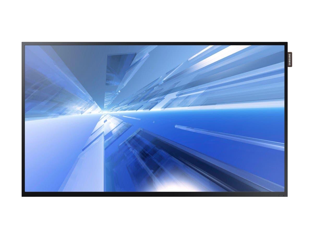 "Samsung DB32E - DB-E Series 32"" Slim Direct-Lit LED Display Digital Signage - ARM Cortex A9 1 GHz - 1.50 GB DDR3 SDRAM - 1920 x 1080 - Direct LED - 350 Nit - 1080p - HDMI - USB - DVI - Serial-Large-Image-1"