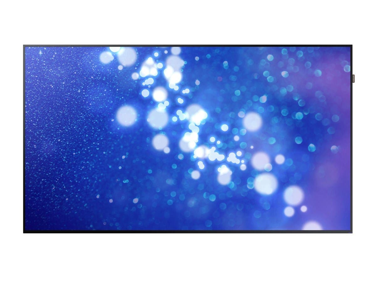 "Samsung DM75E 75"" 1080p Direct-Lit LED Display for Business"