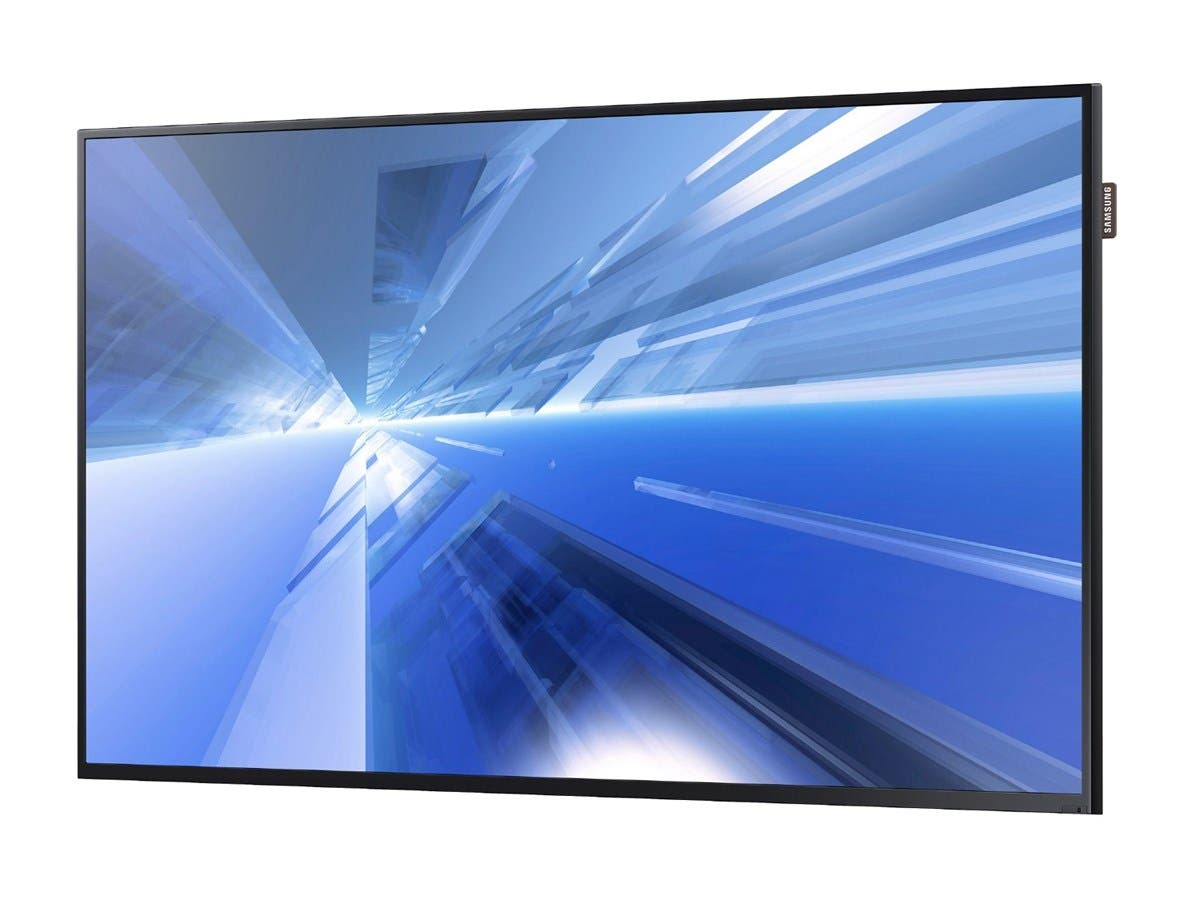 "Samsung DC55E DC-E Series 55"" Direct-Lit LED Display for Business - 55"" LCD - 1920 x 1080 - Direct LED - 350 Nit - 1080p - HDMI - USB - DVI - SerialEthernet-Large-Image-1"