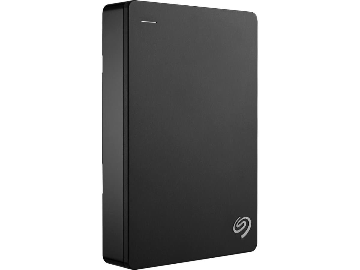 Seagate Backup Plus STDR4000100 4 TB External Hard Drive - USB 3.0 - Portable - Black-Large-Image-1