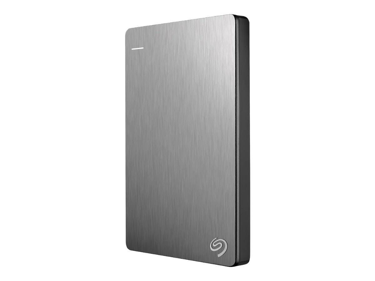 "Seagate Backup Plus STDR4000900 4 TB 2.5"" External Hard Drive - USB 3.0 - Portable - Silver-Large-Image-1"