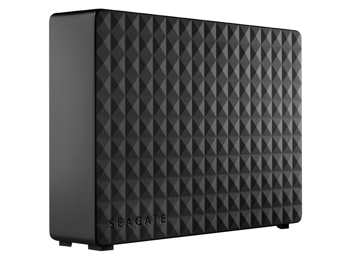 "Seagate STEB4000100 4 TB 3.5"" External Hard Drive - USB 3.0 - Desktop-Large-Image-1"