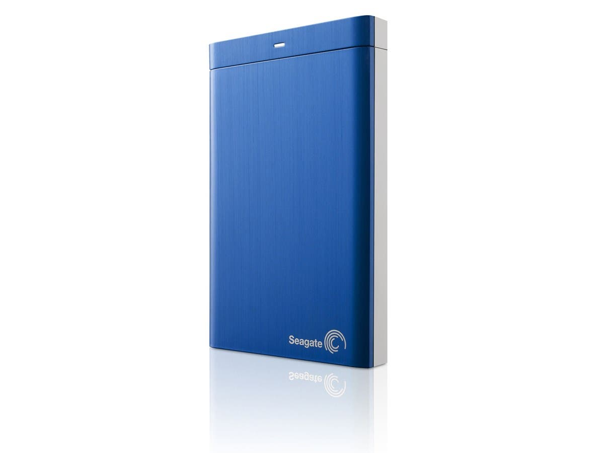 Seagate Backup Plus Portable STDR2000102 2 TB External Hard Drive - USB 3.0 - Portable - Blue-Large-Image-1