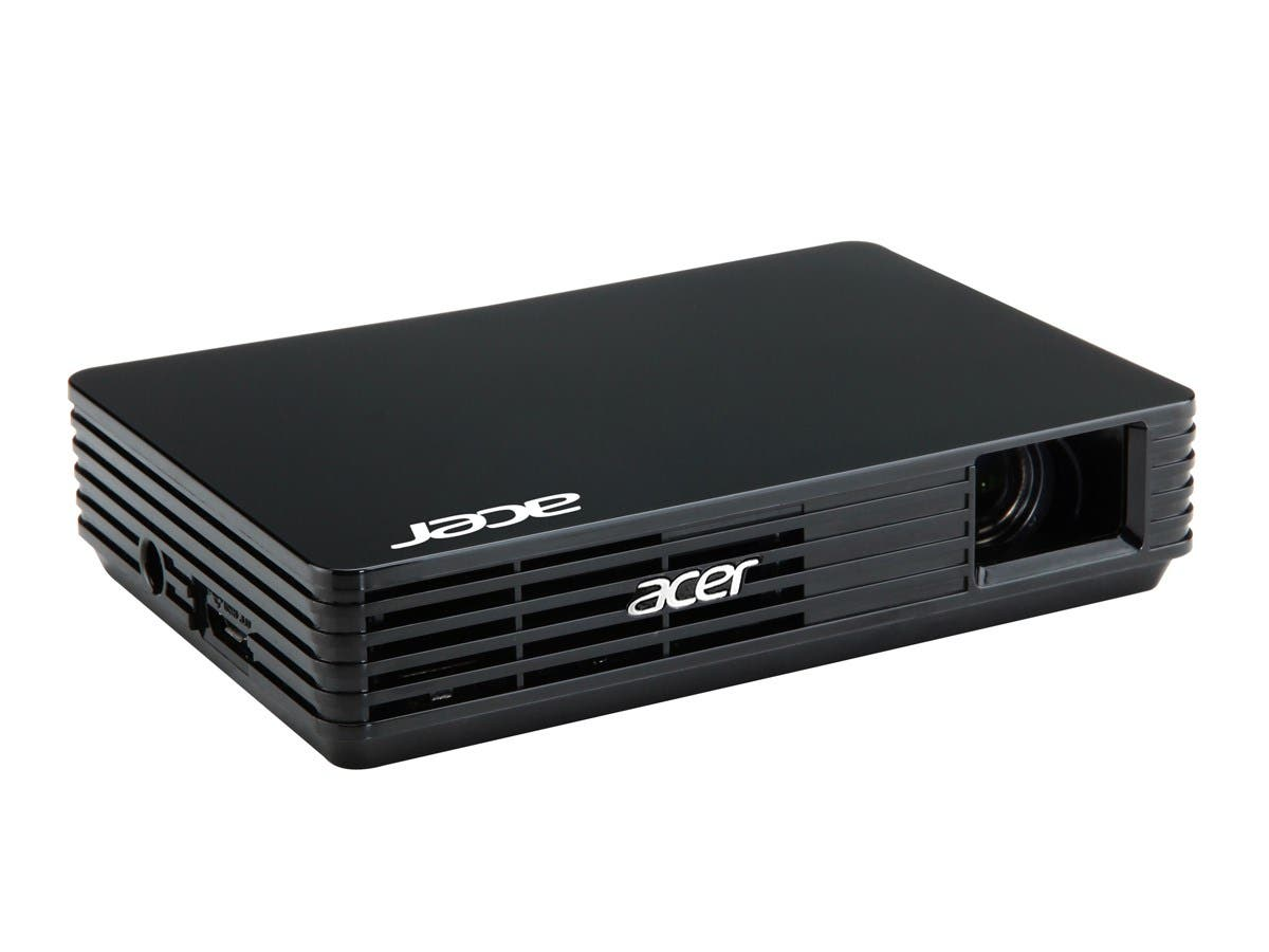 Acer C120 DLP Projector - 16:9 - 1.87 - LED - 20000 Hour Normal Mode - 854 x 480 - FWVGA - 1,000:1 - 100 lm