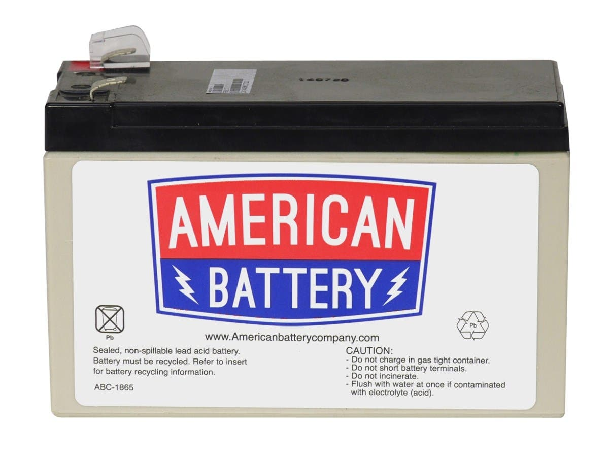 ABC Replacement Battery Cartridge #2 - Maintenance-free Lead Acid Hot-swappable