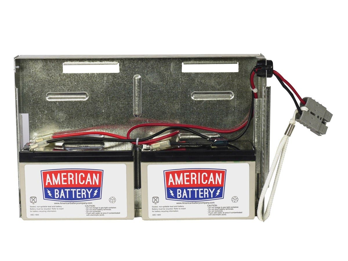 ABC Replacement Battery Cartridge #22 - Maintenance-free Lead Acid Hot-swappable-Large-Image-1