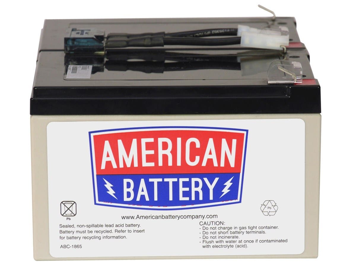 ABC Replacement Battery Cartridge #6 - Maintenance-free Lead Acid Hot-swappable-Large-Image-1
