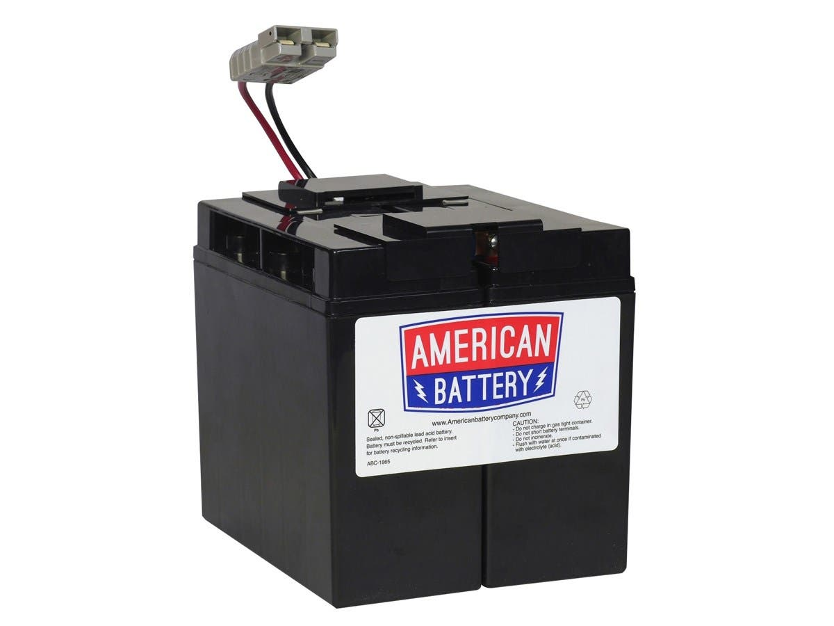 ABC Replacement Battery Cartrige#7 - Maintenance-free Lead Acid Hot-swappable