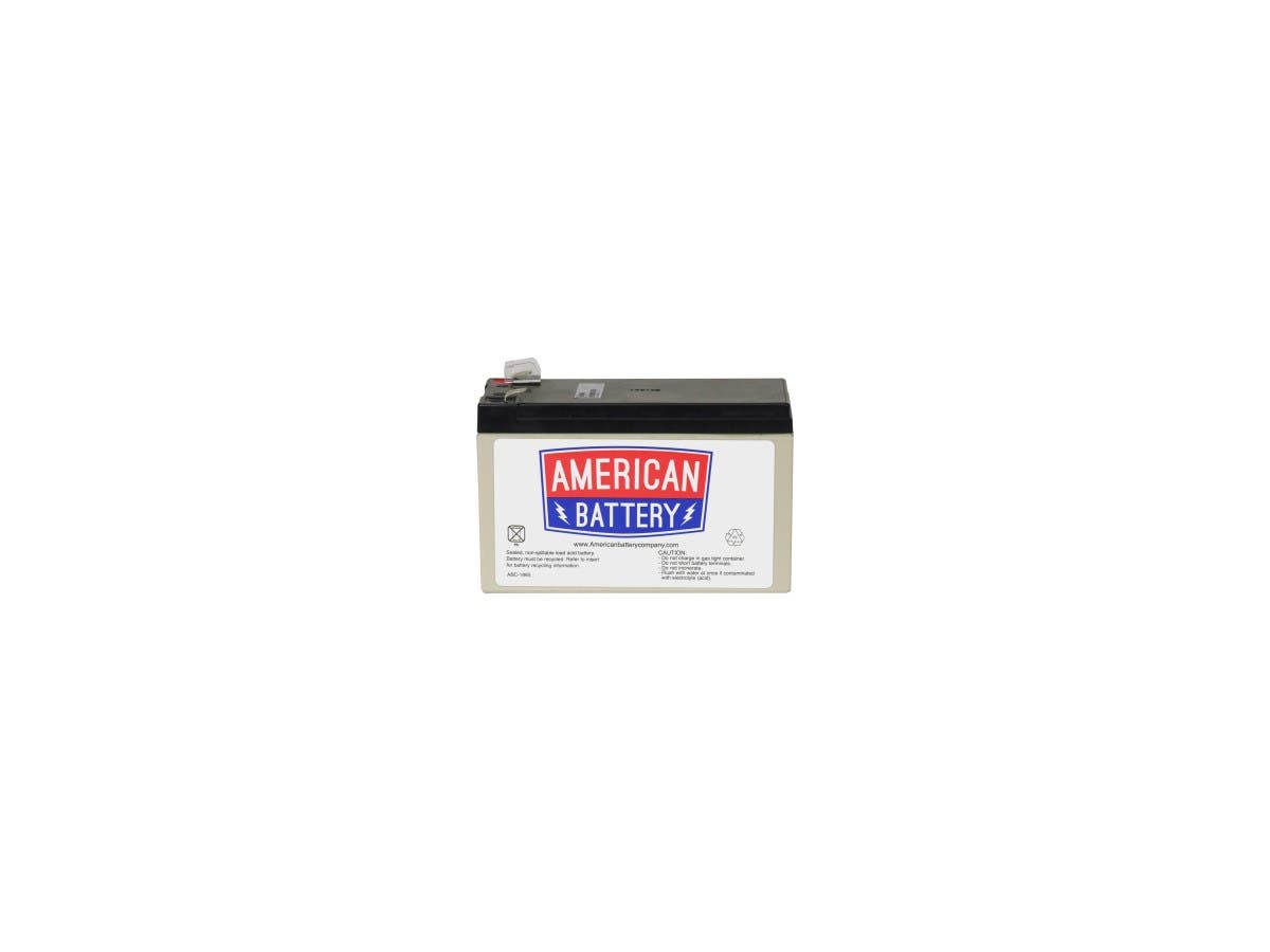 ABC RBC17 Replacement Battery Cartridge #17 - 12V DC - Maintenance-free Sealed Lead Acid Hot-swappable-Large-Image-1